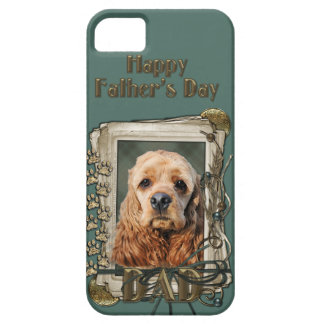 Fathers Day - Stone Paws - Cocker Spaniel iPhone 5 Cover