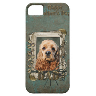 Fathers Day - Stone Paws - Cocker Spaniel iPhone 5 Covers