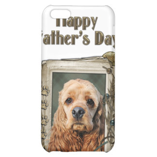 Fathers Day - Stone Paws - Cocker Spaniel iPhone 5C Cover