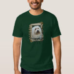 Fathers Day - Stone Paws - Coton de Tulear T-shirt