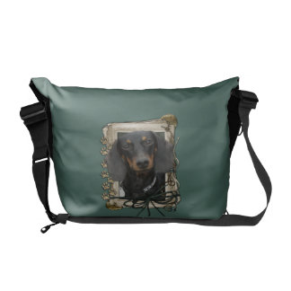 Fathers Day - Stone Paws - Dachshund - Winston Commuter Bag