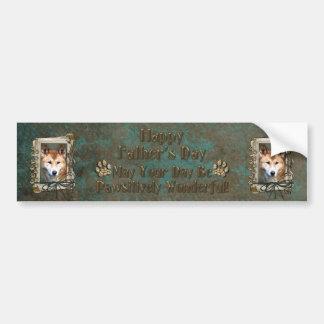 Fathers Day - Stone Paws - Dingo Bumper Sticker