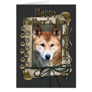 Fathers Day - Stone Paws - Dingo Card
