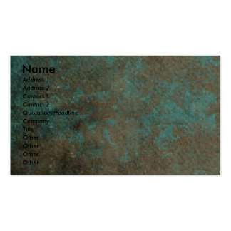 Fathers Day - Stone Paws - French Bulldog Teal Dad Pack Of Standard Business Cards