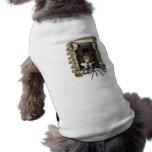 Fathers Day - Stone Paws - French Bulldog - Teal Sleeveless Dog Shirt