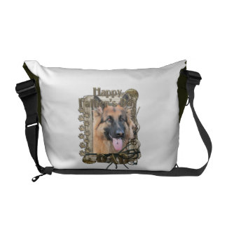 Fathers Day - Stone Paws - German Shepherd Commuter Bag