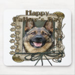 Fathers Day - Stone Paws - German Shepherd Mouse Mats