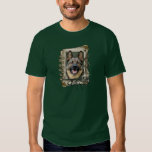 Fathers Day - Stone Paws - German Shepherd T-shirt