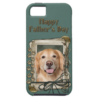 Fathers Day - Stone Paws Golden Retriever - Corona iPhone 5 Cases