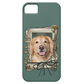 Fathers Day - Stone Paws Golden Retriever - Corona iPhone 5 Covers