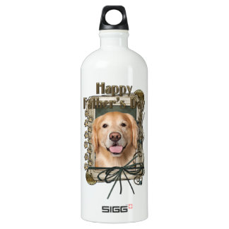 Fathers Day - Stone Paws Golden Retriever - Corona SIGG Traveller 1.0L Water Bottle