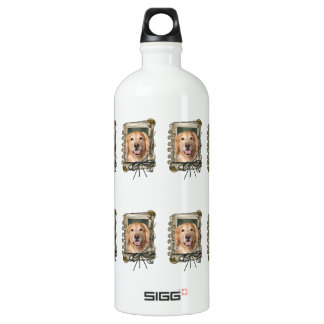 Fathers Day - Stone Paws Golden Retriever Corona SIGG Traveller 1.0L Water Bottle