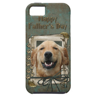 Fathers Day - Stone Paws - Golden Retriever Mickey iPhone 5 Case