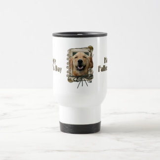 Fathers Day - Stone Paws - Golden Retriever Mickey Coffee Mugs