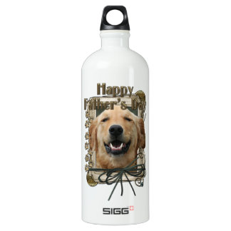 Fathers Day - Stone Paws - Golden Retriever Mickey SIGG Traveller 1.0L Water Bottle