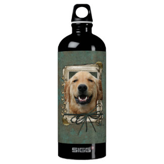 Fathers Day - Stone Paws - Golden Retriever Mickey SIGG Traveler 1.0L Water Bottle