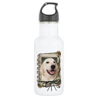 Fathers Day - Stone Paws - Golden Retriever Tebow 532 Ml Water Bottle
