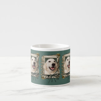Fathers Day - Stone Paws - Golden Retriever Tebow Espresso Mug