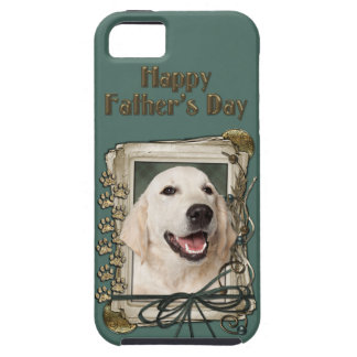 Fathers Day - Stone Paws - Golden Retriever Tebow iPhone 5 Cases