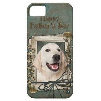 Fathers Day - Stone Paws - Golden Retriever Tebow iPhone 5 Covers