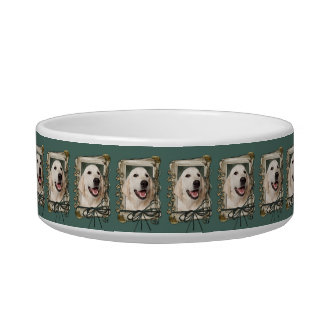 Fathers Day - Stone Paws - Golden Retriever Tebow Pet Food Bowl