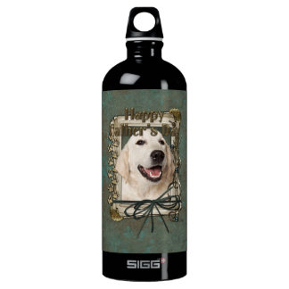Fathers Day - Stone Paws - Golden Retriever Tebow SIGG Traveler 1.0L Water Bottle