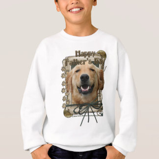 Fathers Day - Stone Paws - Golden Retriever Tee Shirt