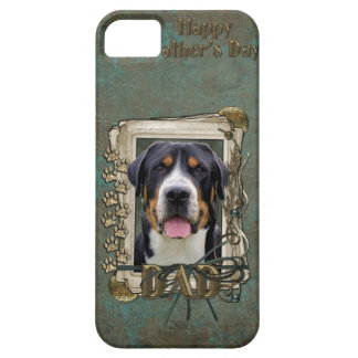 Fathers Day - Stone Paws - Greater Swiss Mountain Barely There iPhone 5 Case