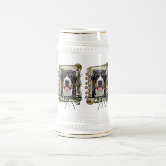 Fathers Day - Stone Paws - Greater Swiss Mountain Beer Steins