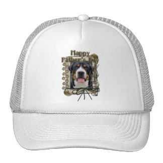 Fathers Day - Stone Paws - Greater Swiss Mountain Trucker Hat