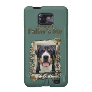 Fathers Day - Stone Paws - Greater Swiss Mountain Galaxy S2 Cases