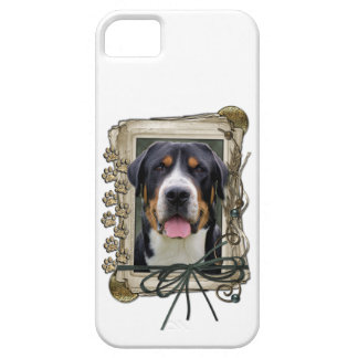 Fathers Day - Stone Paws - Greater Swiss Mountain iPhone 5 Cases