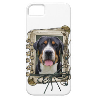 Fathers Day - Stone Paws - Greater Swiss Mountain Case For The iPhone 5
