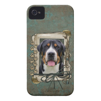 Fathers Day - Stone Paws - Greater Swiss Mountain Case-Mate iPhone 4 Case