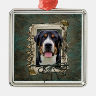 Fathers Day - Stone Paws - Greater Swiss Mountain Ornament