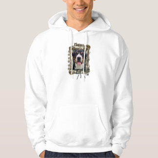 Fathers Day - Stone Paws - Greater Swiss Mountain Hoody