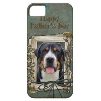 Fathers Day - Stone Paws - Greater Swiss Mountain iPhone 5 Case