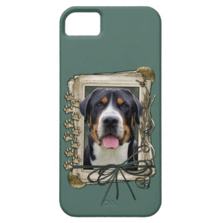 Fathers Day - Stone Paws - Greater Swiss Mountain iPhone 5 Covers