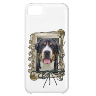 Fathers Day - Stone Paws - Greater Swiss Mountain iPhone 5C Case