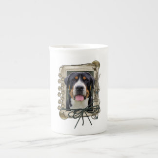 Fathers Day - Stone Paws - Greater Swiss Mountain Tea Cup