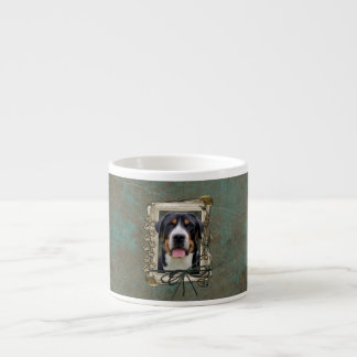 Fathers Day - Stone Paws - Greater Swiss Mountain Espresso Mug