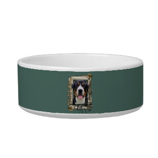 Fathers Day - Stone Paws - Greater Swiss Mountain Pet Bowls