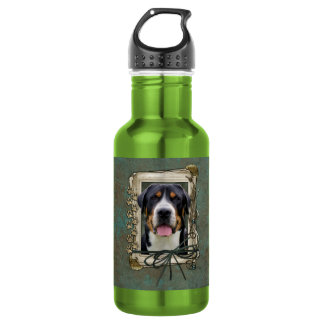 Fathers Day - Stone Paws - Greater Swiss Mountain 532 Ml Water Bottle