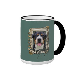 Fathers Day - Stone Paws - Greater Swiss Mountain Ringer Mug