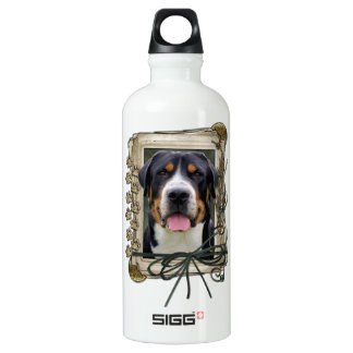 Fathers Day - Stone Paws - Greater Swiss Mountain SIGG Traveller 0.6L Water Bottle