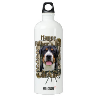 Fathers Day - Stone Paws - Greater Swiss Mountain SIGG Traveller 1.0L Water Bottle