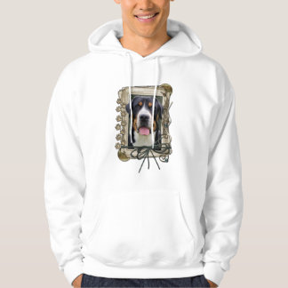 Fathers Day - Stone Paws - Greater Swiss Mountain Sweatshirts