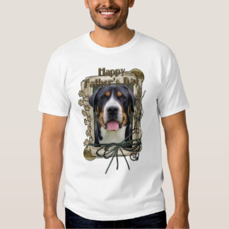 Fathers Day - Stone Paws - Greater Swiss Mountain T Shirt