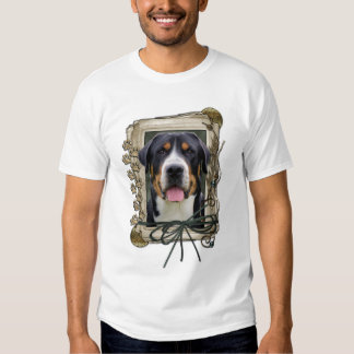 Fathers Day - Stone Paws - Greater Swiss Mountain Tee Shirts