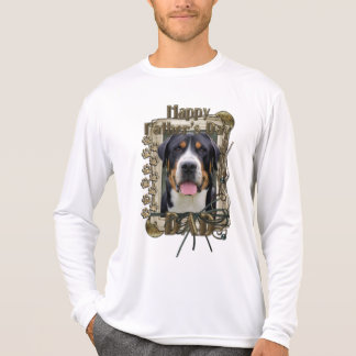 Fathers Day - Stone Paws - Greater Swiss Mountain Tees